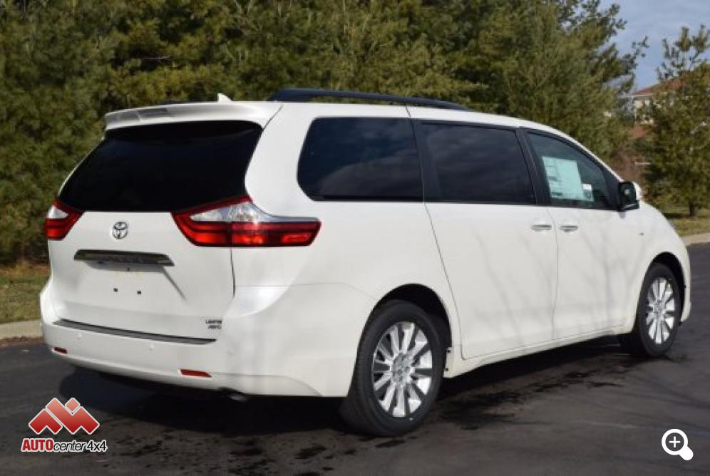 2016 toyota sienna xle awd limited package. Black Bedroom Furniture Sets. Home Design Ideas